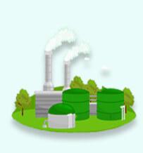 Fonte de energia renovável - energia da biomassa