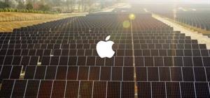 Apple tem 100% suas operações movidas por energia solar