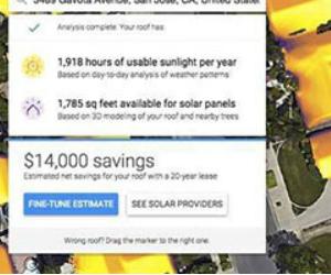 Mapa da Energia Solar é Lançado pelo Google