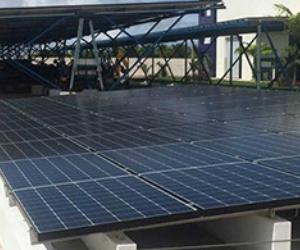Estacionamento de Energia Solar em Fábrica de Sorvetes