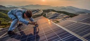 China investe em energia solar para se tornar referência em energias renováveis