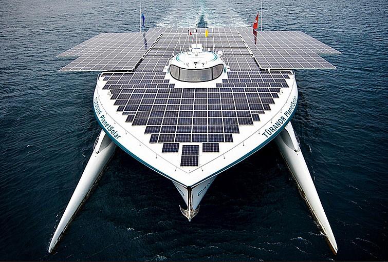 Motores de embarcações movidas a energia solar podem se tornar realidade no Brasil