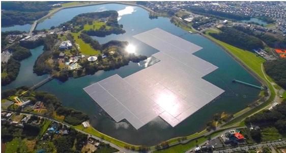 Portugal investe em plataformas de energia solar flutuante