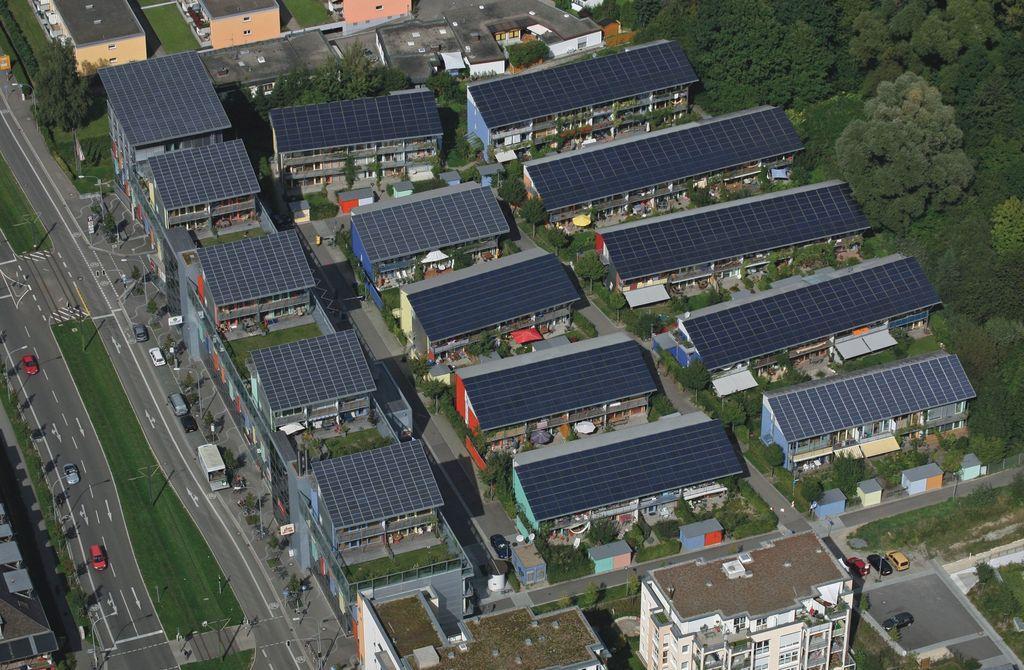 Na Alemanha, vila solar gera mais energia do que consome