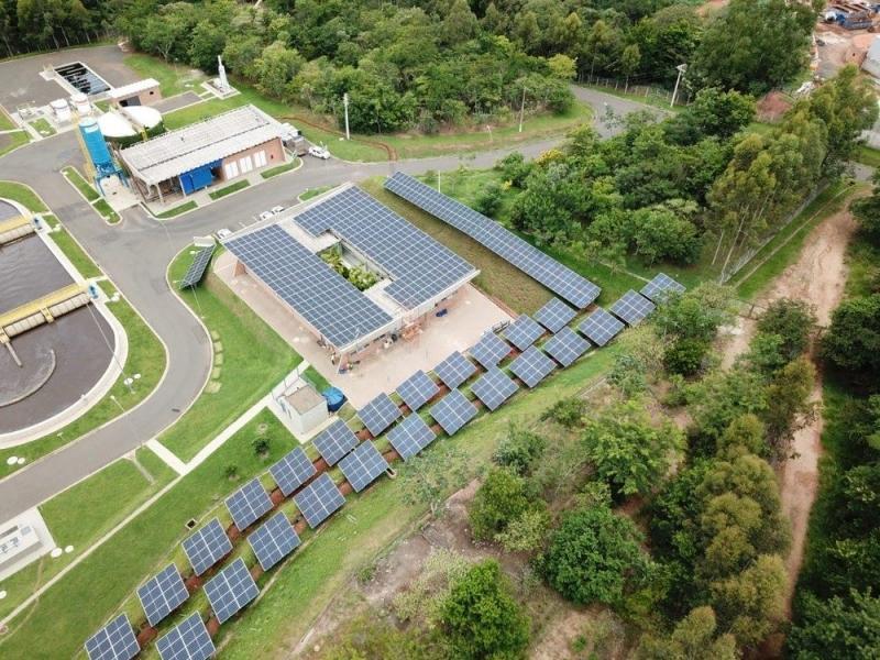 Mogi Mirim (SP) implementa energia solar de forma pioneira no tratamento de esgoto urbano