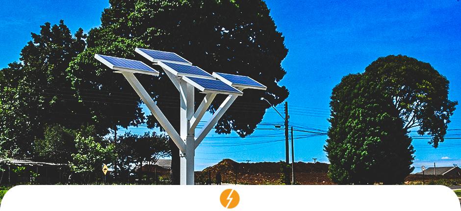 Municípios do Paraná criam árvore digital que usa energia solar para conectar cidadãos
