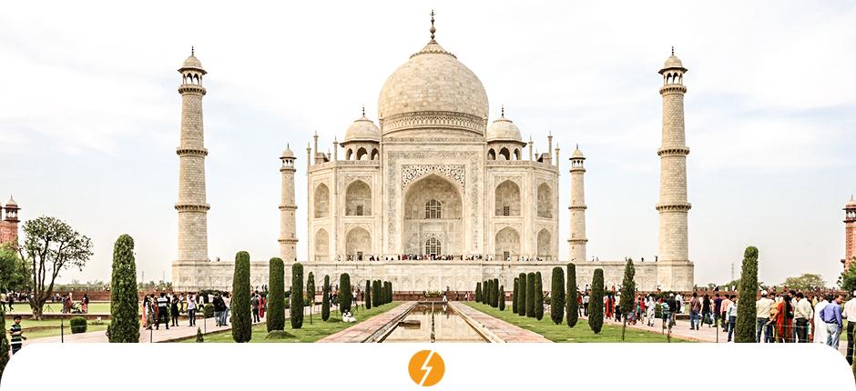 Cidade na Índia atinge 100% de abastecimento por energia solar