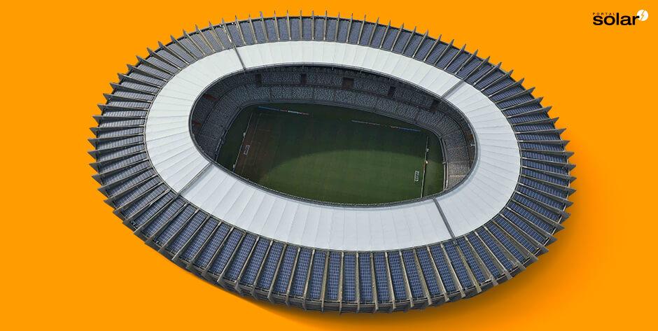 Usina Solar no estádio de Futebol Mineirão